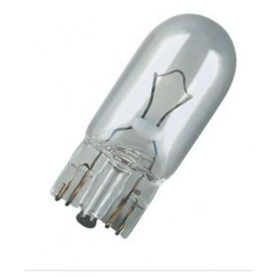 Эл.лампа 2825 Osram AUTO 5W 12V (W5W)стеклянный цоколь, лампочка