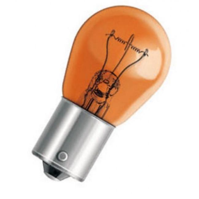 Эл.лампа 7507 желтая Osram AUTO 21W 12V BAU15s., лампочка