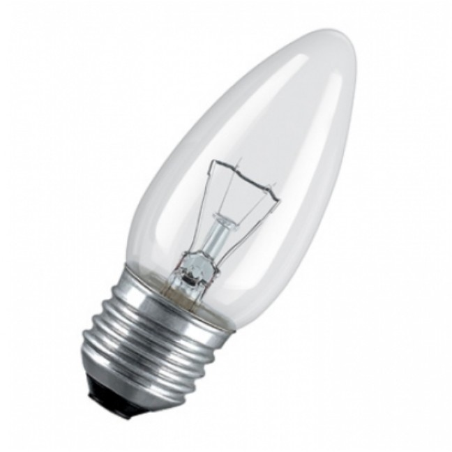 Эл.лампа Osram Classic B CL 40W E27 ., лампочка
