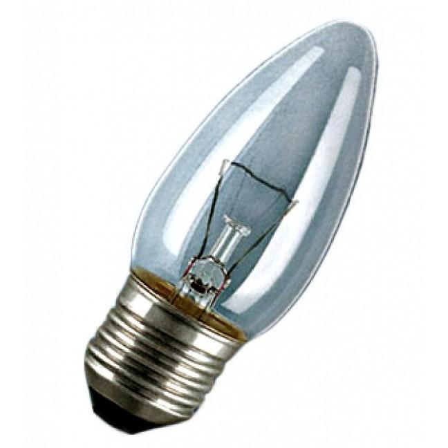 Эл.лампа Osram Classic B CL 60W E27 ., лампочка