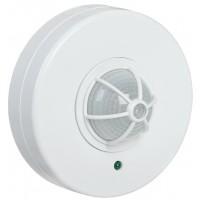 Датчик движ.ДД024В белый 1100W угол обзора 180-360гр.дальность 6м IP33, ИЭК