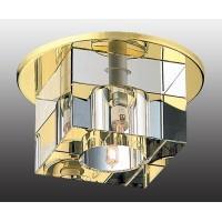 369382 NT золото/прозрачный Встраиваемый IP20 GX5.3 50W 12V CRYSTALS