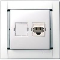 34480-30 РСП-1 TF телеф. с 4 конт. RJ11 белая