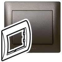 771201 G.life Рамка 1п Dark Bronze