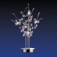 1802/3T ODL08 162 хром/бел/роз Наст.лампа G9 3*40W Sakura