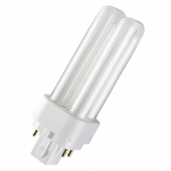 Эл.лампа Osram Dulux D/E 18W/830 G24q-2 т/бел, лампочка