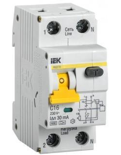 АВДТ 32 С16 30мА Автоматический выключатель дифференциального тока