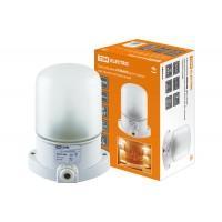 Светильник НПБ400 для сауны настенно-потолочный белый IP54 60 Вт TDM