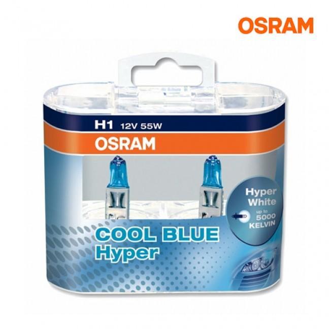Эл.лампа 62150 CBH Osram AUTO H1 55W 12V (5000К)., лампочка