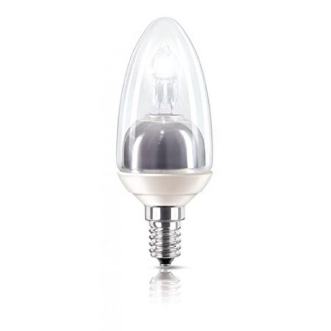 Эл.лампа B35 CL Philips 20W 230V E14 свеча прозр. MClassic, лампочка