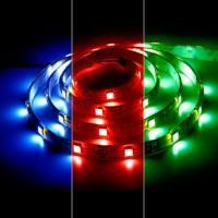 Лента LED.влагозащ.IP65,красная,7.2Вт/м,12В,Ферон(30свд/м,h=10мм) LS607 (5050 30SMD)