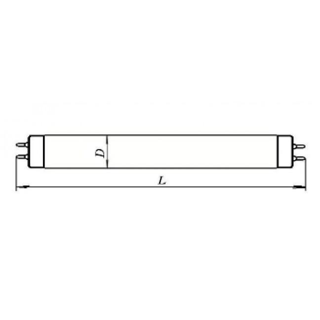 Эл.лампа ЛУФТ-4  G5 (150,1х16), лампочка