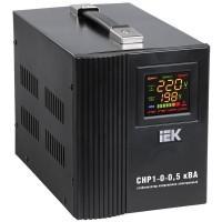 Стабилизатор напряжения HOME 0,5 кВА (СНР1-0-0,5) ИЭК
