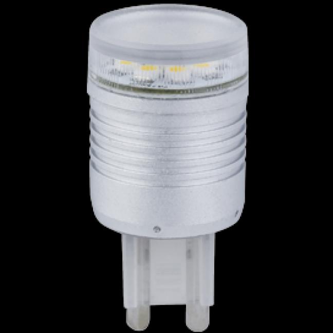 Лампа светодиод.G9 LED 2,4W 220v 4200K 22*54 (G9LV24ELC), лампочка
