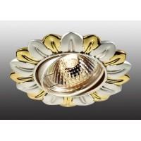 369820 NT12 117 серебро/золото Встраиваемый ПВ IP20 GX5.3 50W 12V FLOWER