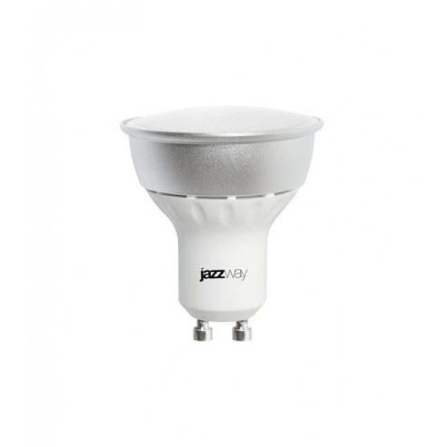 Лампа светодиод.PLED-GU10  5,5W(5W)230V 5000К 380lm  Jazzway, лампочка