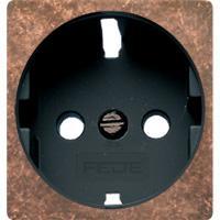 FD04314RU-M Обрамление розетки 2к+з цвет RUSTIC COOPER черн