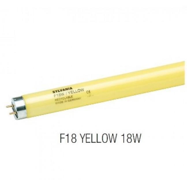 Эл.лампа SYLVANIA F 18/62 Yellow G13(26*590), лампочка