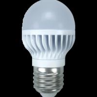 Лампа светодиод.globe G45 LED 5,4W 220V E27 2700К 78*45 шар(K7GW54ELC), лампочка