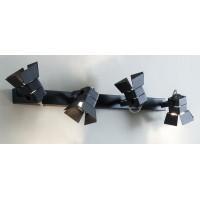 CL526542S Рубик Черный св-к наст/потол