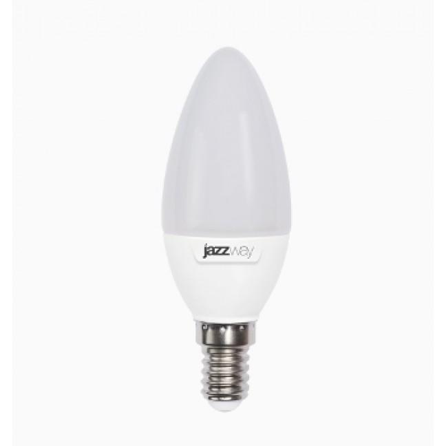 Лампа светодиод.PLED-SP свеча 7W 230V E14 3000К 530lm(2700К)  Jazzway, лампочка