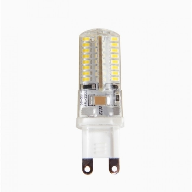 Лампа светодиод.PLED-G9 5W 220v 2700K 300lm 16*50 Jazzway, лампочка