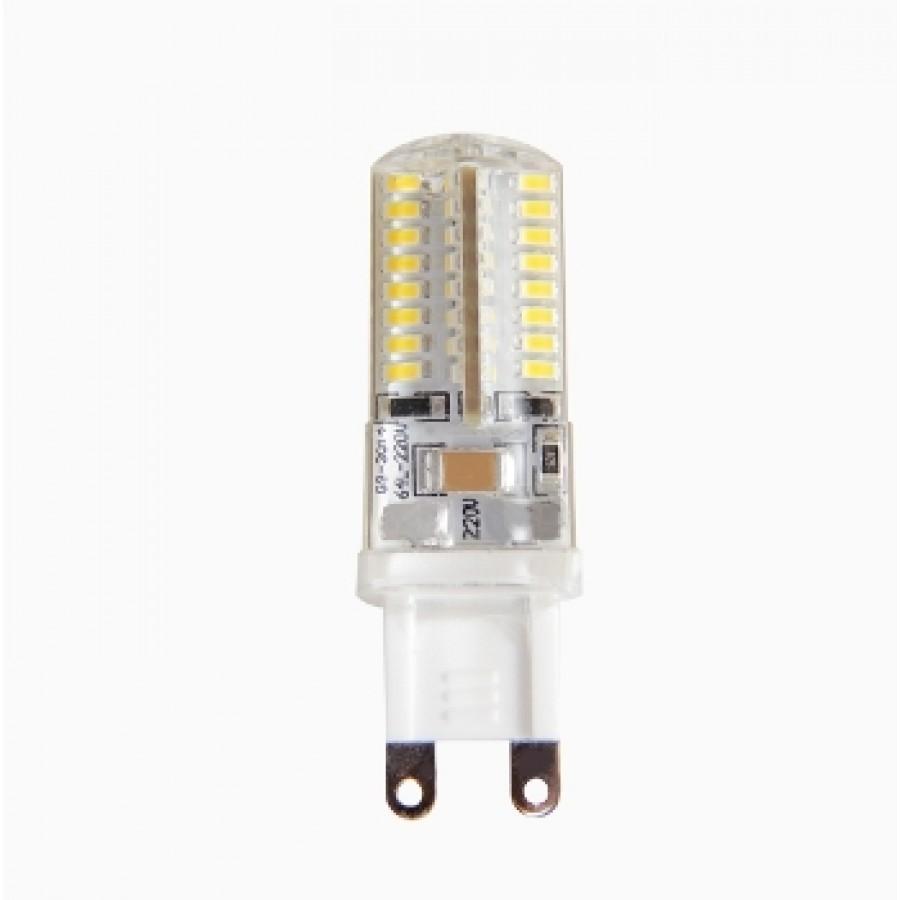 Лампа светодиод.PLED-G9 5W 220v 4000K 300lm 16*50 Jazzway, лампочка