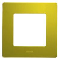 672541 Рамка 1пост Зел.папоротник ETIKA