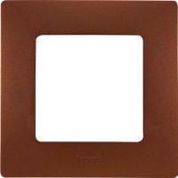 672571 Рамка 1пост цвет какао ETIKA