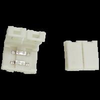 Коннектор LED strip разъем зажим 2 конт.10мм для одноцв.ленты (5050-30,5050-60,3528-120) (SC21SCESB)