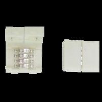 Коннектор LED strip разъем зажимной 4-х конт. 10мм для ленты RGB (SC41SCESB)