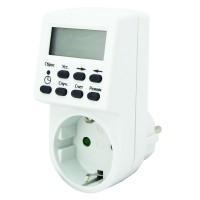 Таймер розеточный электронный ТРЭ-01-1мин/7дн-20on/off-16А TDM