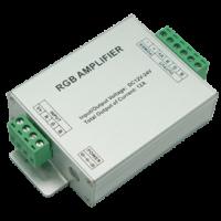 LED усилитель strip RGB 12А 144W 12V (288W 24V) 3 канала (AMP12AESB)