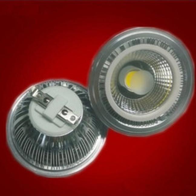 Лампа светодиод. AR111 LED COB 18W 220V G53 белый, лампочка