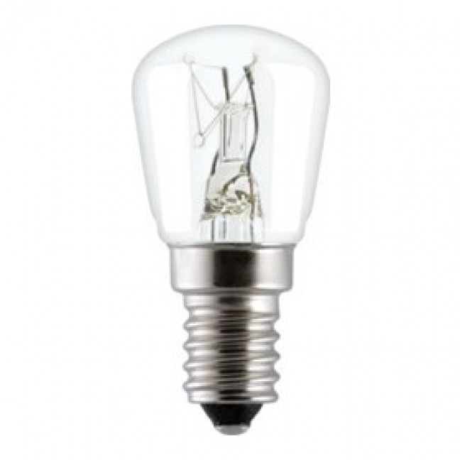 Эл.лампа T28 CL 25W E14 GE (D28) 84807 (L=62), лампочка