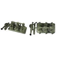 Рубильник РБ-4 400А левый
