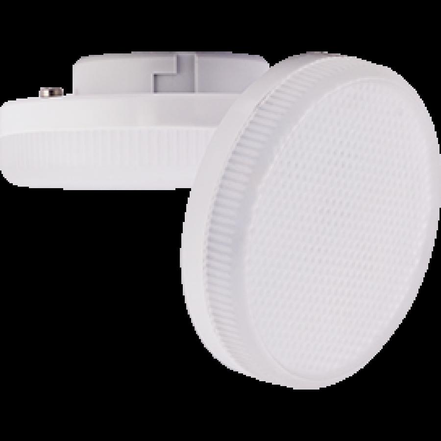 Лампа светодиод.GX53 LED 6W 220V 2800К мат.стекло 27*75(T5NW60ELC,T5UW60ELC) Premium, лампочка