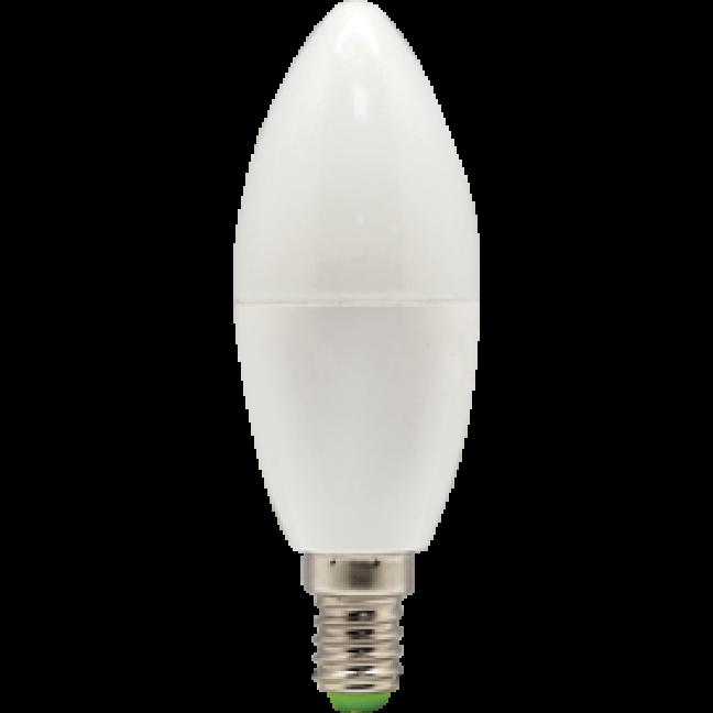 Лампа светодиод.candle LED 7,0W 220V E14 4000К 110*37 свеча(C4RV70ELC) Premium, лампочка