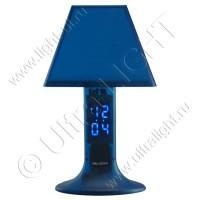 Ночник CZ-2(A) Часы синий Led 4,5Вт 220В штекерный трансфоматор