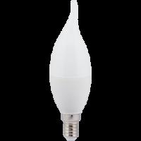 Лампа светодиод.candle LED 7,0W 220V E14 4000К 130*37 свеча на ветру(C4YV70ELC,C4SV70ELC), лампочка
