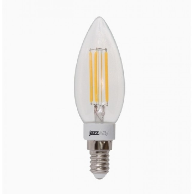 Лампа светодиод.PLED C37 OMNI свеча 4W 230V E14 2700К 360lm  Jazzway, лампочка