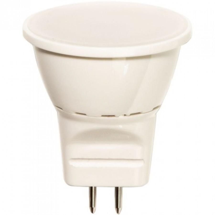 Лампа светодиод.MR11 3W 6LED G5.3 230v 4000K (LB-271), лампочка