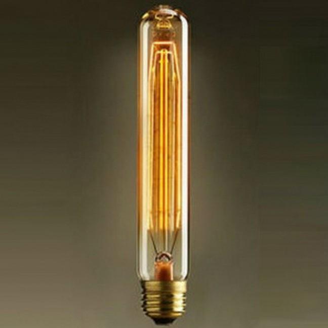 GF-E-718 Лампа декоративная Е27 60вт 18*3 (Ретро), лампочка