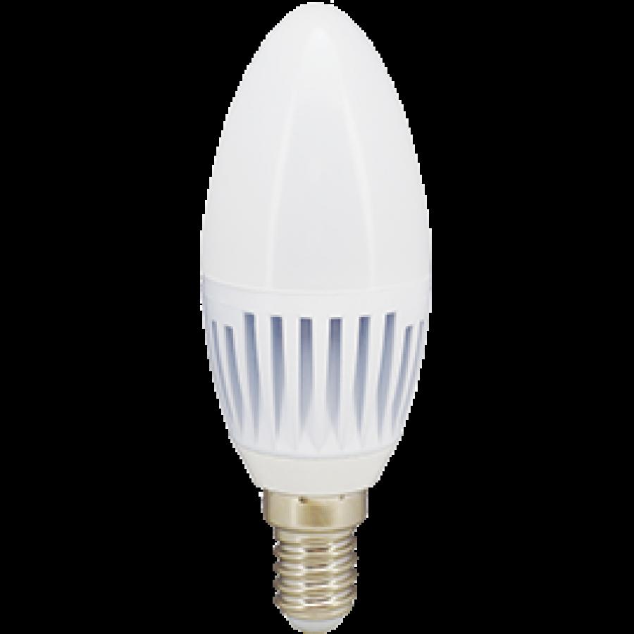 Лампа светодиод.candle LED 8,0W 220V E14 2700К 100*37 свеча(C4RW80ELC,C4MW80ELC) Premium, лампочка