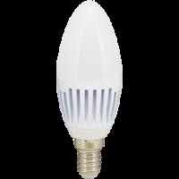 Лампа светодиод.candle LED 8,0W 220V E14 4000К 100*37 свеча(C4RV80ELC,C4MV80ELC) Premium, лампочка