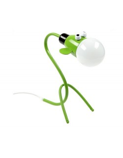 0741101-07 Наст.лампа ИА зеленый LED Е27 1*9W