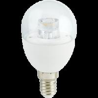 Лампа светодиод.globe G45 LED 7,0W 220V E14 2700К 90*45 прозр.шар с линзой(K4FW70ELC) Premium, лампочка