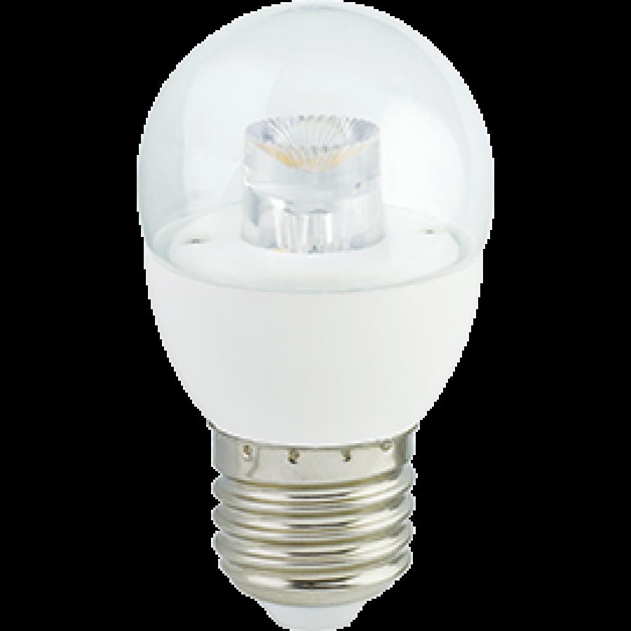 Лампа светодиод.globe G45 LED 7,0W 220V E27 2700К 84*45 прозр.шар с линзой(K7FW70ELC) Premium, лампочка