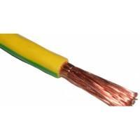 Провод ПуГВ(ПВ3) 1.5 желто-зеленый