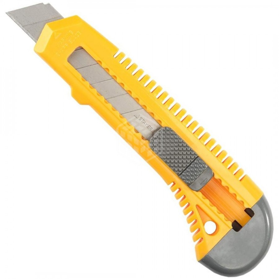 Нож технический (канцелярский) STAYER 18мм
